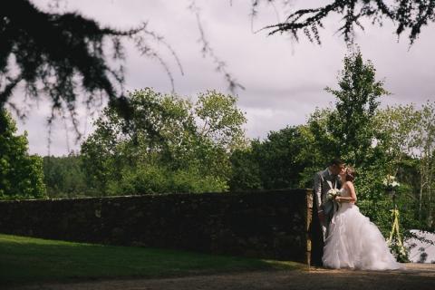 fotografo de boda en tordoia y pazo de villar de francos
