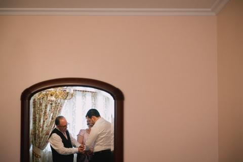 boda santiago, noia